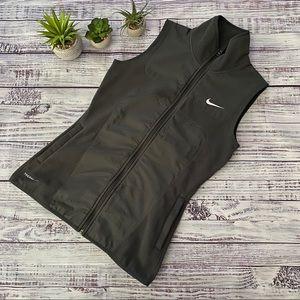 Nike Golf Run Fleece Zip Up Therma Fit Vest